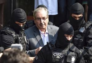 O ex-presidente da Câmara e deputado cassado Eduardo Cunha Foto: Denis Ferreira / AP / Arquivo / 20/10/2016