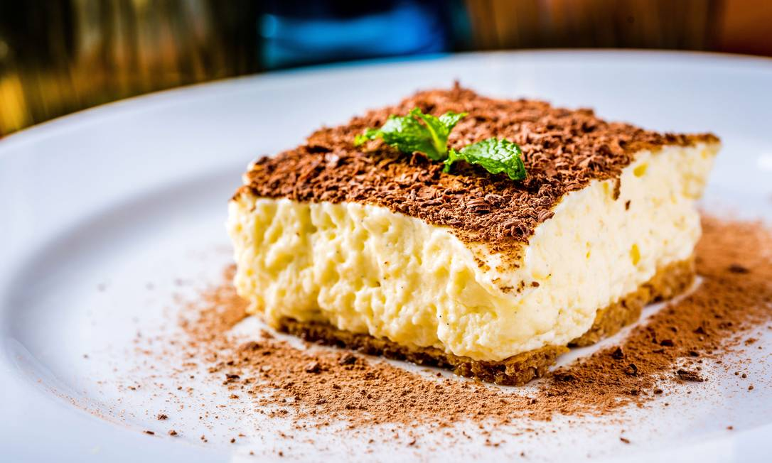 Camelo Pizzaria e Restaurante. Tiramisu clássico com toque suave de café (R$25) FILICO / Divulgação