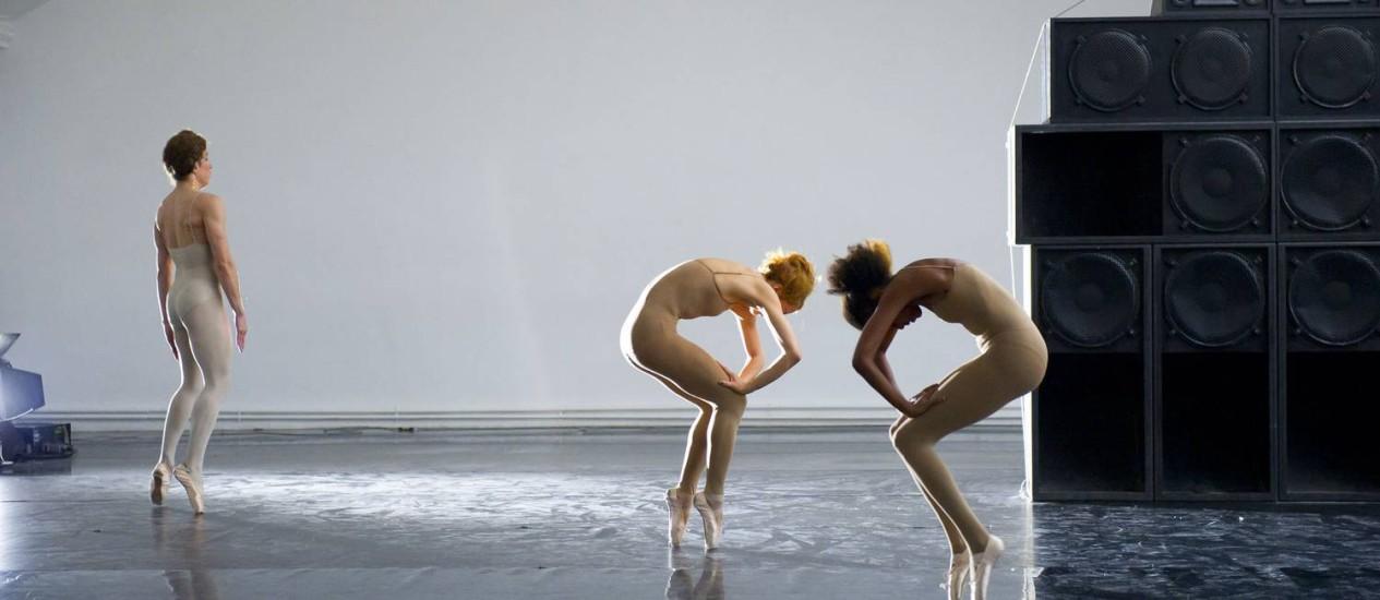 """""""Dub love"""". Cecilia Bengolea e François Chaignaud mesclam balé e música jamaicana no Centro Foto: DivulgaçãoLaurent Philippe"""