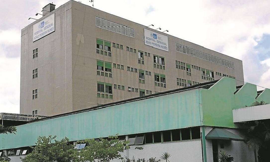 Referência. Hospital de Saracuruna: com três mil funcionários, unidade é uma das mais importantes da Baixada Foto: Luciola Villela/7-12-2008