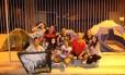 Grupo acampa meses antes de show de Justin Bieber Foto: Pedro Teixeira / Agência O Globo