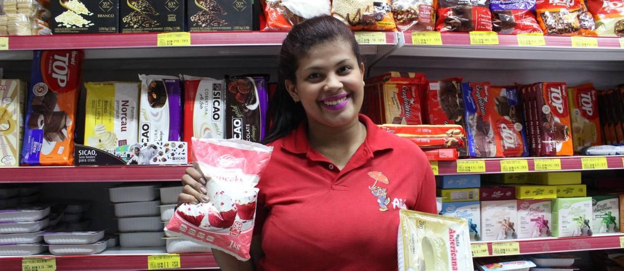 Oficina de cupcakes natalinos será uma das atrações da Semana Saara Foto: Divulgação