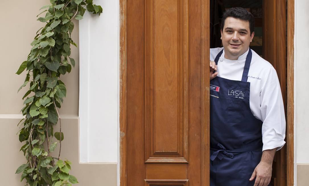 Melhor chef: Rafa Costa e Silva Rodrigo Azevedo / O GLOBO