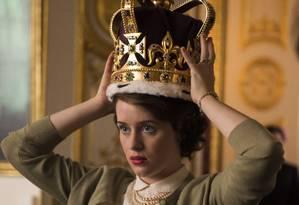 Cena da série 'The crown' Foto: Netflix / Divulgação
