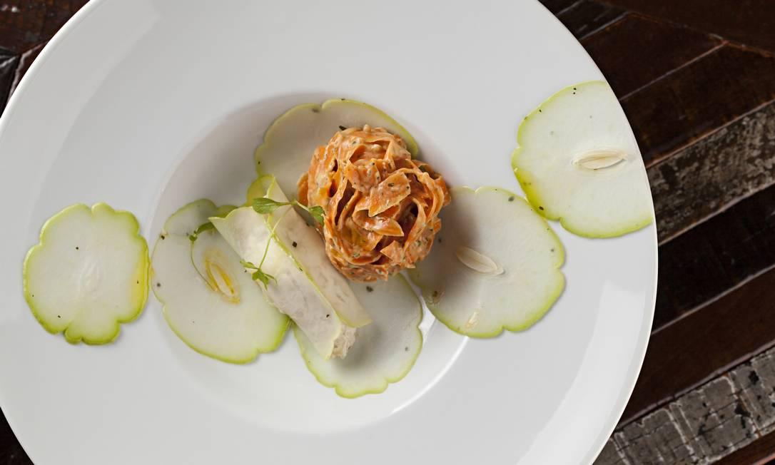 Melhor vegetariano: Ró Raw & Wine Rodrigo Azevedo / O GLOBO