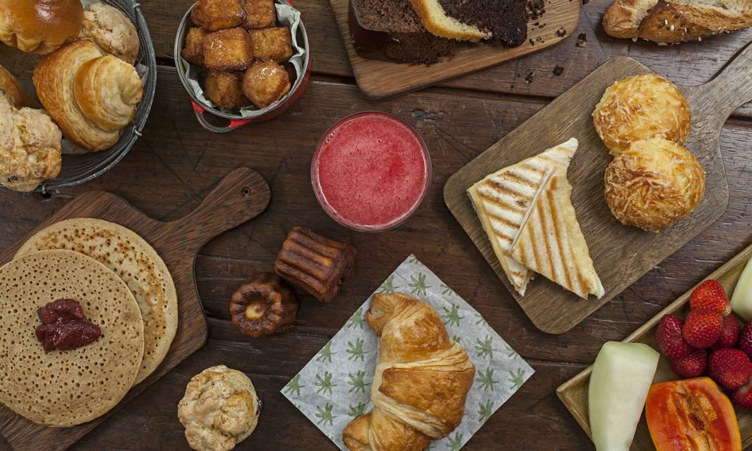Melhor café da manhã: Casa Carandaí... Foto: Rodrigo Azevedo / O GLOBO