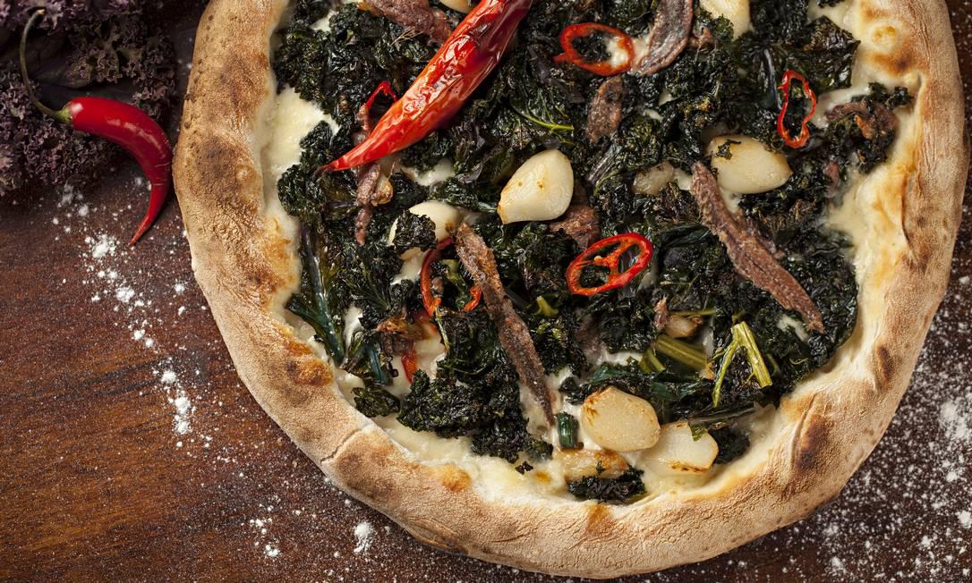 Melhor pizza: Capricciosa Foto: Rodrigo Azevedo / O GLOBO