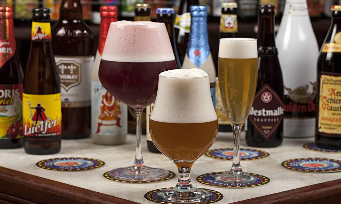 Melhor carta de cervejas: Delirium Café Rodrigo Azevedo / O GLOBO