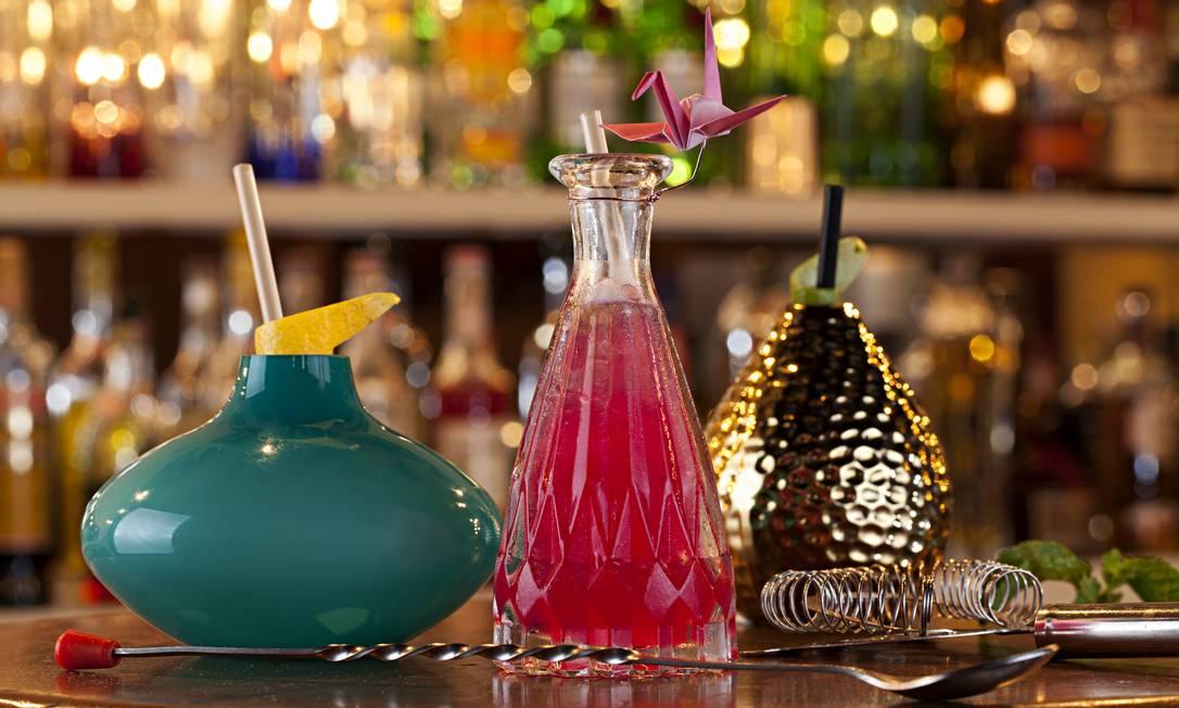 Melhor carta de drinques: Meza Bar e... Rodrigo Azevedo / O GLOBO