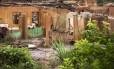 Ruínas em Bento Rodrigues: onda de lama percorreu mais de 600 quilômetros