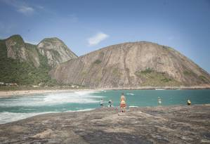 Praia de Itacoatiara Foto: Analice Paron