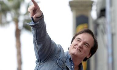 O cineasta Quentin Tarantino Foto: KEVORK DJANSEZIAN / Reuters