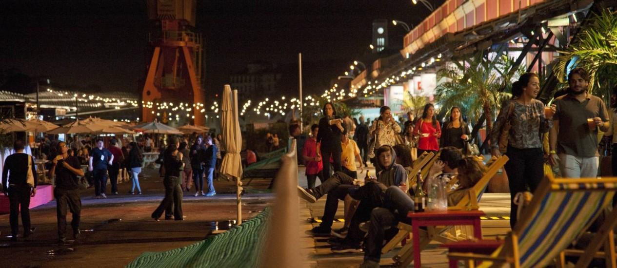 Rio Gastronomia é parque de diversões para os amantes da boa mesa Foto: Adriana Lorete / Agência O Globo