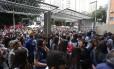 Abertura dos portões em escola de São Paulo