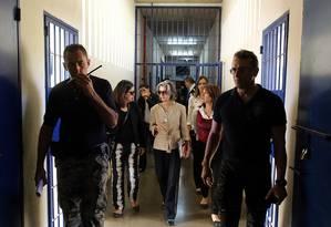 Ministra Cármen Lúcia faz visita surpresa ao Complexo Penitenciário da Papuda Foto: Divulgação/CNJ
