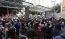 Abertura dos portões em São Paulo Foto: Agência O Globo