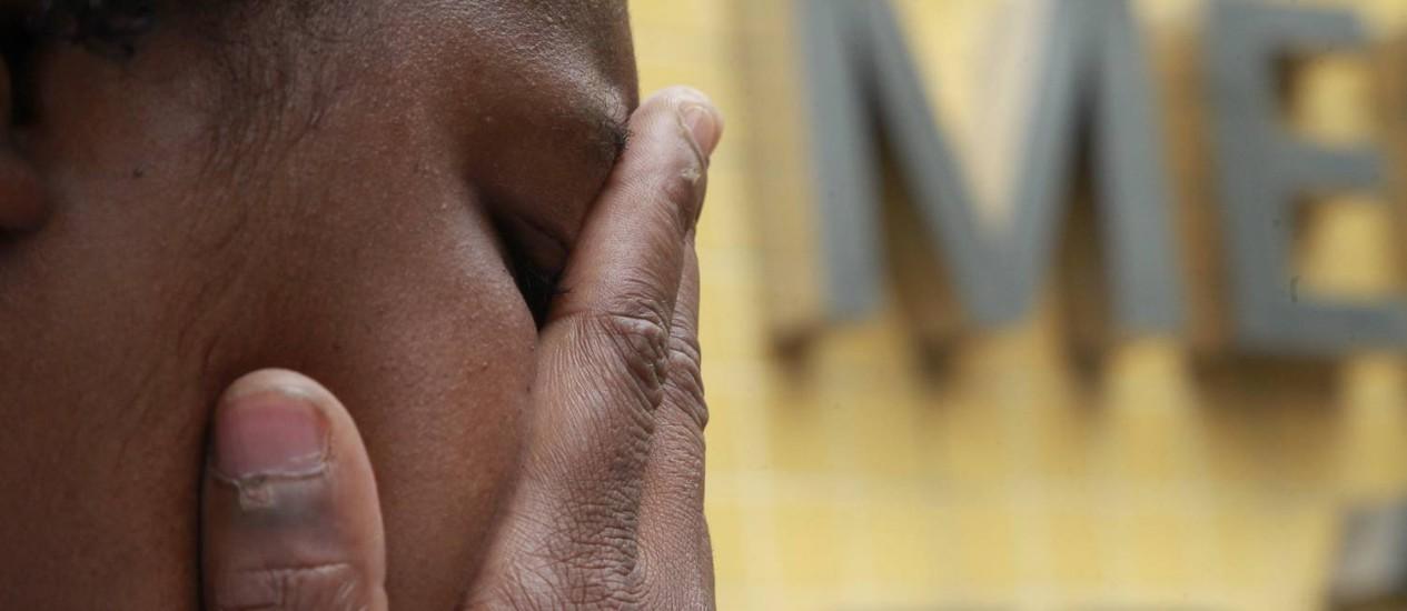 Viúva de Vantuil: 'Quero uma resposta das autoridades' Foto: Fabio Guimaraes / Agência O Globo