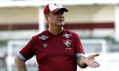 Levir Culpi foi demitido do Fluminense após a derrota para o Cruzeiro Foto: Nelson Perez / Fluminense FC