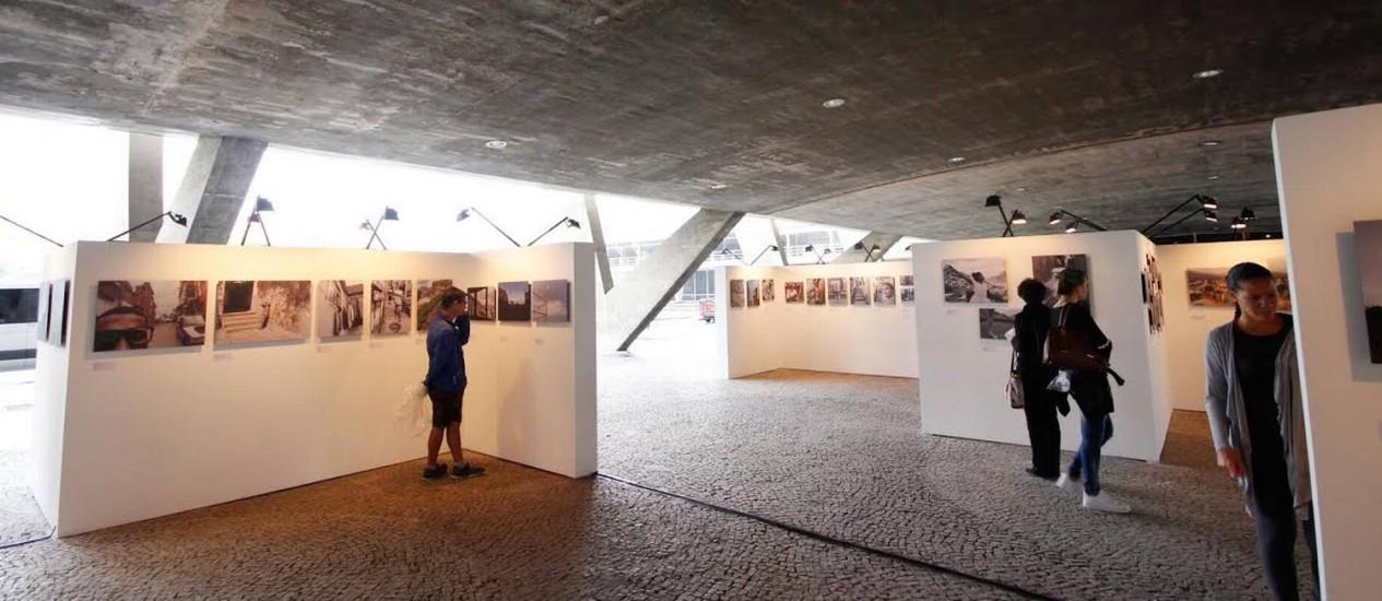 Exposição de fotos de nove jovens de favelas no MAM Foto: Divulgação
