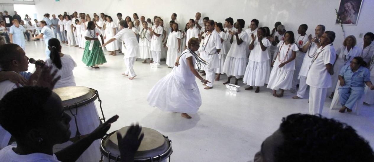 Gira em terreiro de Umbanda Foto: Bruno Gonzalez em 15/11/2012 / Agência O Globo