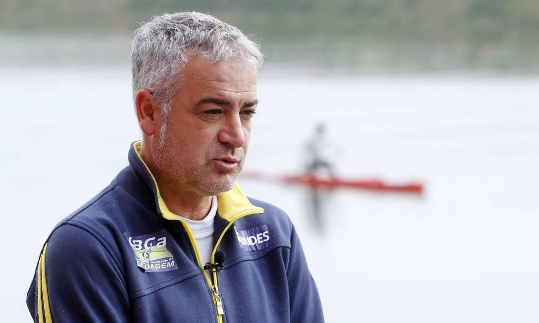 Jesus Morlán é o treinador da seleção brasileira de canoagem Foto: / ELIARIA ANDRADE