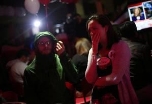 No México, pessoas ficam em choque ao saber da vitória de Donald Trump para a Presidência dos EUA Foto: EDGARD GARRIDO / REUTERS