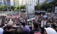 Crise no Estado do Rio de Janeiro, Servidores públicos protestando na assembléia legislativa do Rio