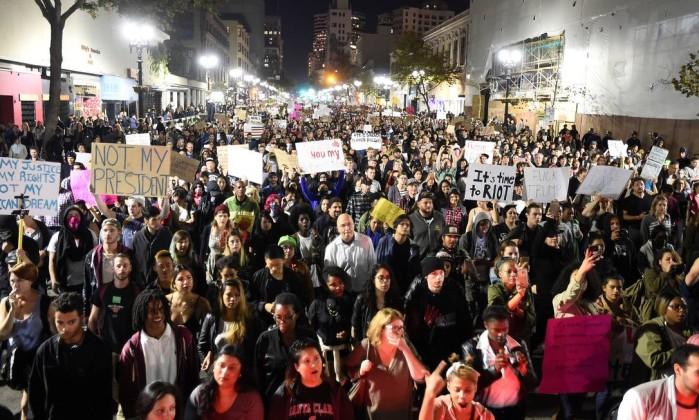 Resultado de imagem para protestos anti trump