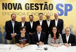 Doria anuncia oito novos secretários para prefeitura de São Paulo Foto: Edilson Dantas / Agência O Globo