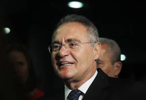Renan diz que não é provocação chamar Moro para discutir projeto sobre abuso de autoridade Foto: Givaldo Barbosa / Agência O Globo