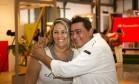 Sous-chef e parceiro de programa de Claude Troisgros, Batista esteve hoje no Rio Gastronomia Foto: Agência O Globo