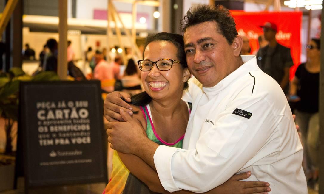 O cozinheiro ganhou o carinho do público Agência O Globo