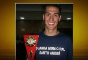 A morte de um GCM em Santo André teria motivado vingança Foto: Reprodução/TV Globo
