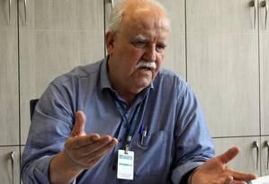 Tarcisio Rivello. Diretor geral espera que deputados federais garantam verbas para garantir projetos emergenciais Foto: Paulo Nicolella