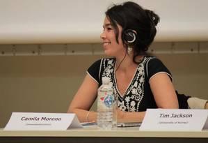 """Camila Moreno é coautora de """"A Métrica do Carbono: Abstrações Globais e Epistemicídio Ecológico"""" Foto: Arquivo Pessoal"""
