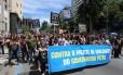 Servidores prostestam na última quarta-feira contra governo Pezão