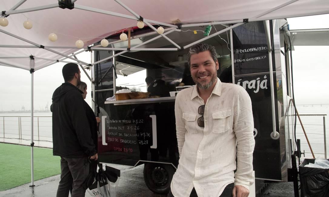 Chef Pedro de Artagão perdeu 15 quilos nos últimos três meses Adriana Lorete / Agência O Globo