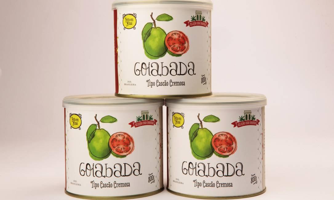 A goiabada cascão é uma das opções do quisque da Casa Carandaí Ber Silva / Divlugação