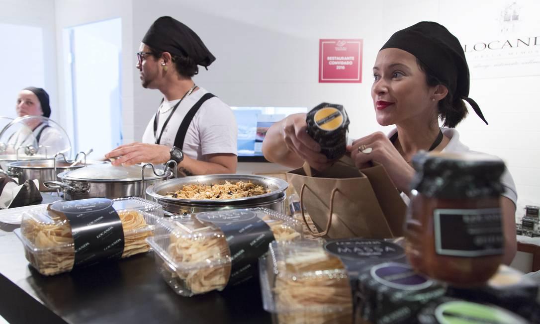 Geleias e massas da Locanda Della Mimosa são uma ótima lembrança do Rio Gastronomia Leo Martins / Agência O Globo