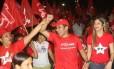 Katiane Cunha Prefeita eleita em Ipixuna, no Pará, faz campanha ao lado do marido, Evaldo Cunha
