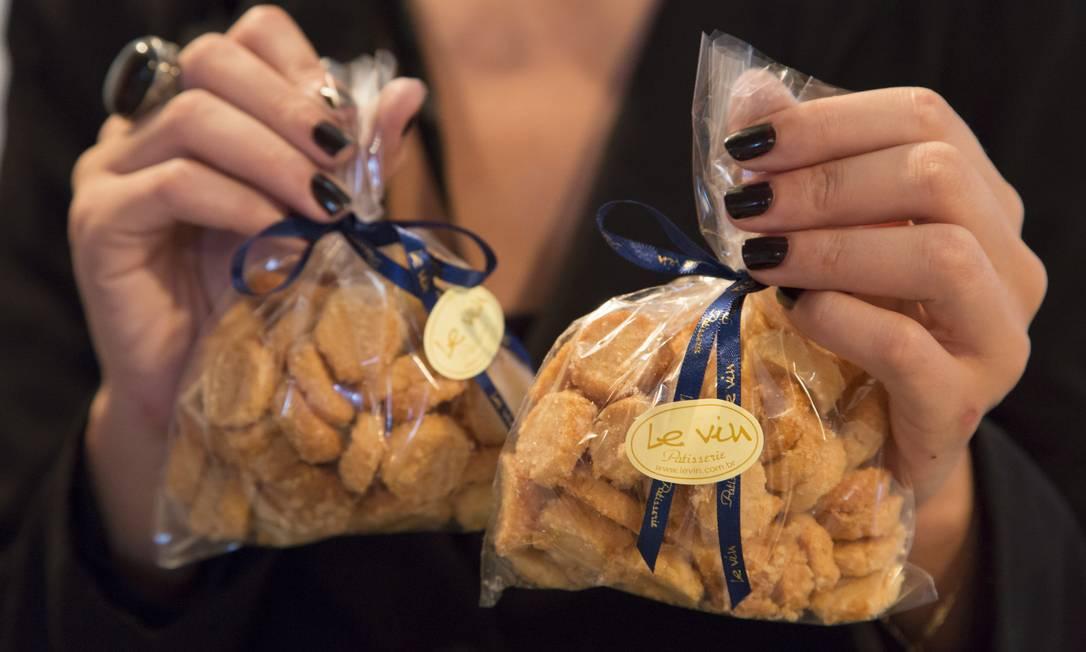 No Le Vin, a dica são os biscoitinhos para levar para casa Leo Martins / Agência O Globo