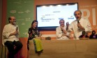 Chico Mascarenhas, Luciana Fróes, Danio Braga e José Hugo Celidônio Foto: Adriana Lorete / Agência O Globo