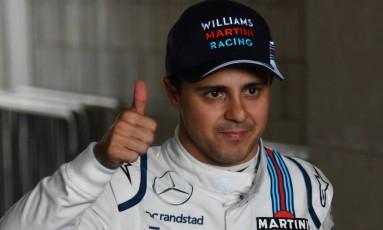 Felipe Massa está de volta à Fórmula 1 Foto: NELSON ALMEIDA / AFP
