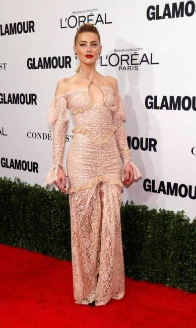 A atriz Amber Heard MARIO ANZUONI / REUTERS
