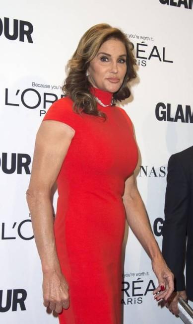 Caitlyn Jenner no red carpet VALERIE MACON / AFP