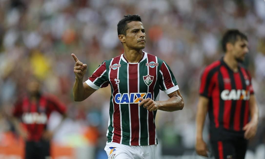 O Fluminense de Cícero segue na briga por uma vaga na Libertadores de 2017 Alexandre Cassiano / Agência O Globo