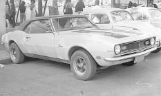 Camaro com motor de Opala Foto: Terceiro / Luiz Alberto / arquivo / 6-6-1975