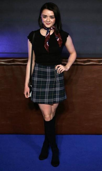 A atriz Maisie Williams NEIL HALL / REUTERS