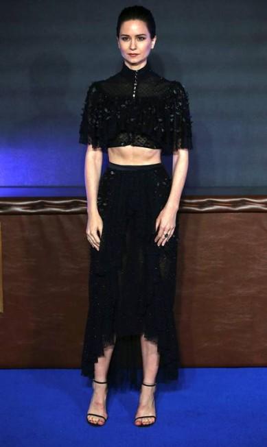 A atriz Katherine Waterston NEIL HALL / REUTERS
