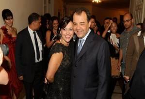 Cabral e a mulher, Adriana Ancelmo Foto: Reprodução